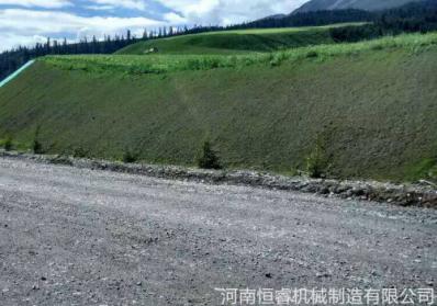 祁连至俄堡公路边坡绿化